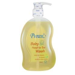 Pureen Head To Toe Wash with Pro-Vitamin B5 & Vitamin E