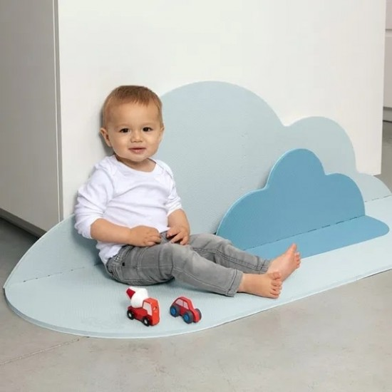 Quut Playmate - Head in the Clouds  (S - 145 X 90 cm) - Dusty Blue