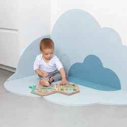 Quut Playmate - Head in the Clouds  (L - 175 X 145 cm) - Dusty Blue