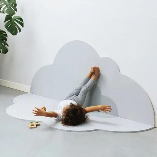 Quut Playmate - Head in the Clouds  (L - 175 X 145 cm) - Pearl Grey