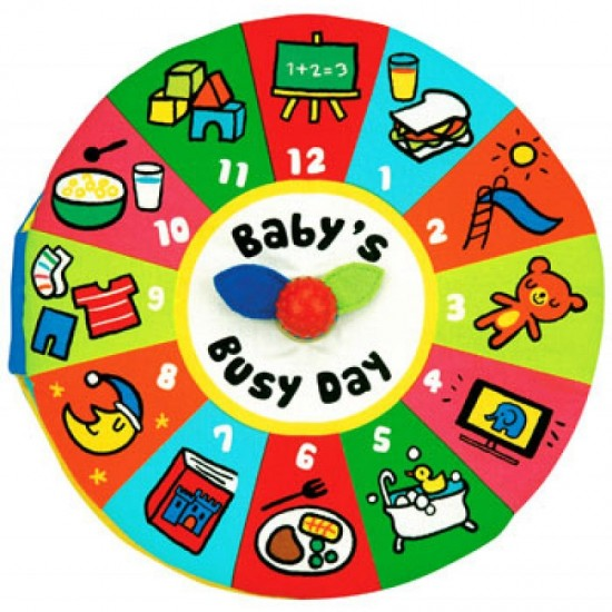 Read & Play Soft Book - Baby busy day
