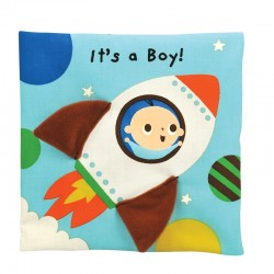 Read & Play soft book - It's a Boy