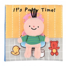Read & Play Soft Book - It's Potty Time