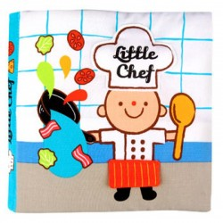 Read & Play Soft Book - Little chef
