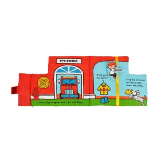 Read & Play Soft Book - Little Fire Engine