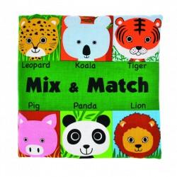 Read & Play Soft book - Mix & Match