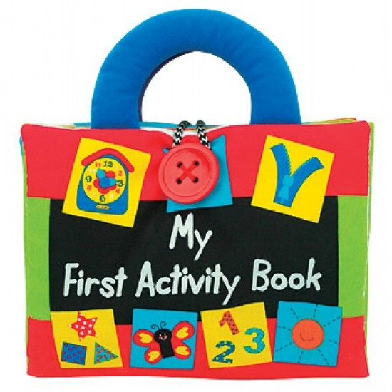 Read & Play Soft Book - My First Activity Book