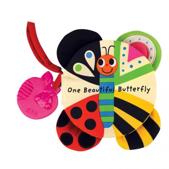 Read & Play Soft book - One Beautiful Butterfly