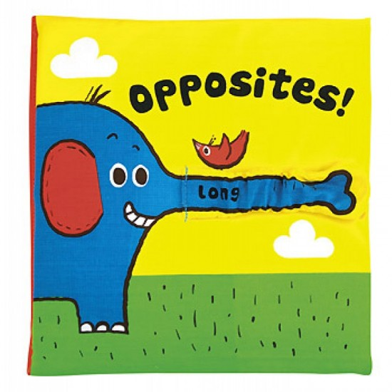Read & Play Soft Book - Opposites