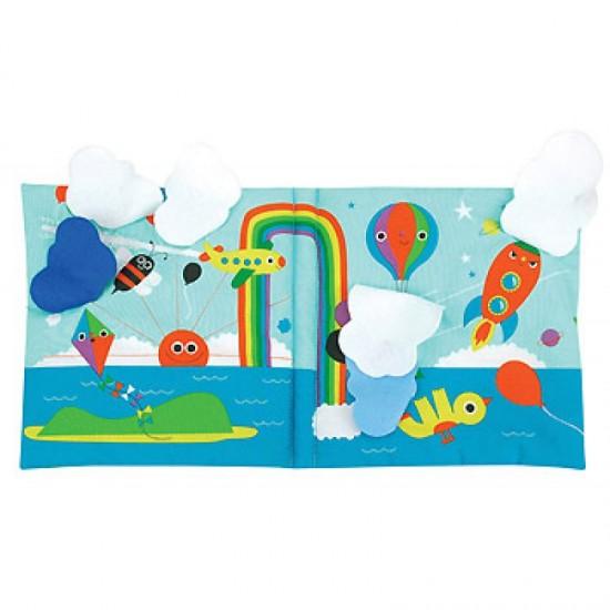 Read & Play Soft Book - The Wonderful World of...Peekaboo