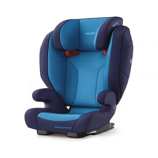 Recaro Nova Evo SeatFix Carseat - Xeon Blue