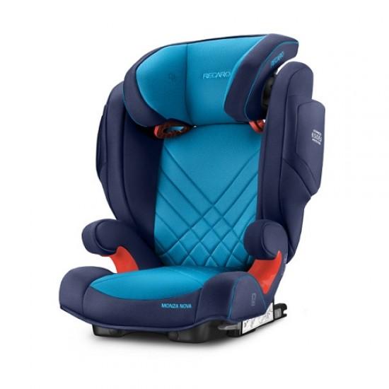 Recaro Monza Nova 2 Seatfix Carseat - Xeon Blue