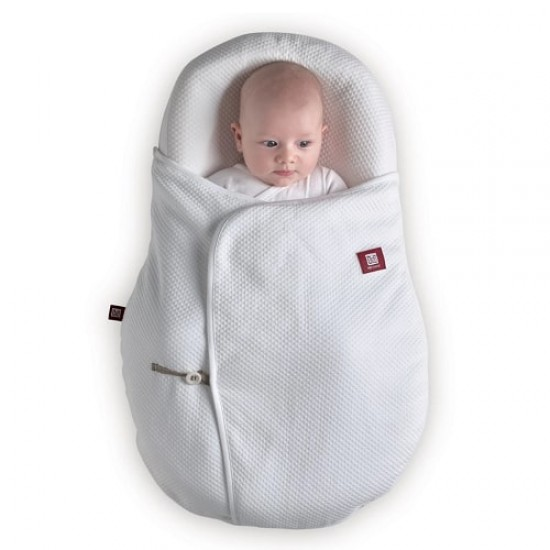 Red Castle Cocoonacover™ quilted  - White