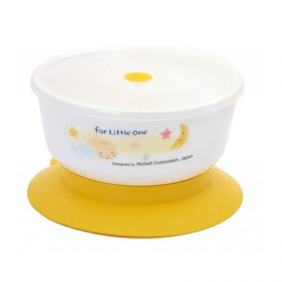 Richell Bowl with suction cup and microwave oven
