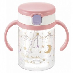 Richell aquela straw bottle mug - Twinkle Star