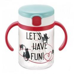 Richell Aquela Straw Training Mug & Clear Straw bottle mug - Let's Have Fun