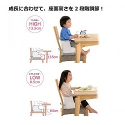 Richell 2 ways booster seat - Blue