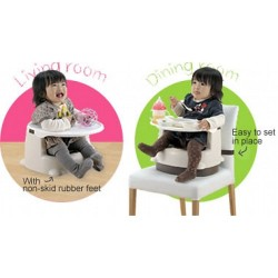 Richell 2 ways booster seat - Pink