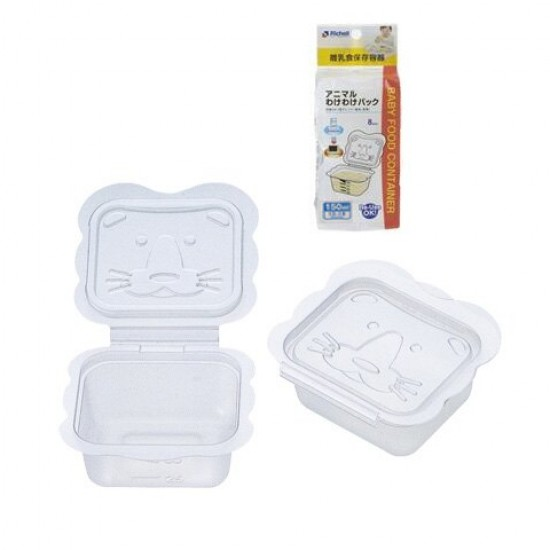 Richell Baby food container 150 ml x 6 pcs