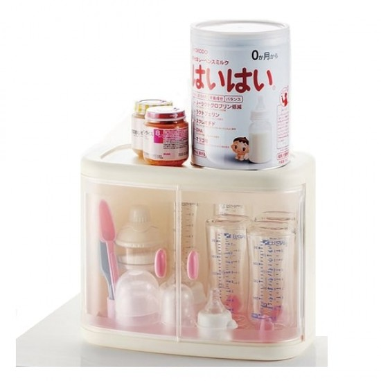Richell Milk Bottle Storage Box