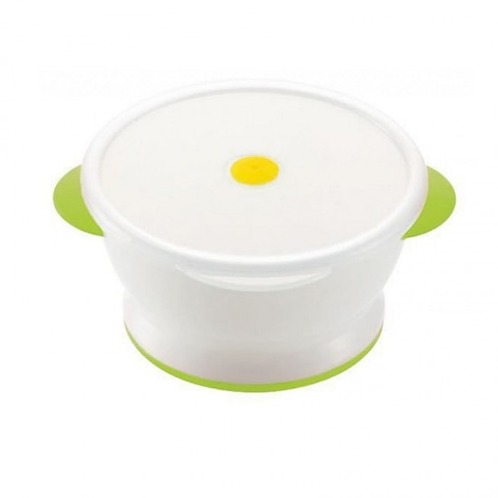 Richell Bowl (With lid for microwave oven)