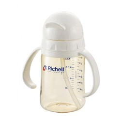 Richell PPSU straw bottle 200 ml