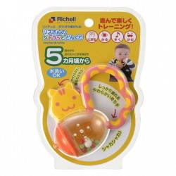 Richell squirrel Teether & Rattle