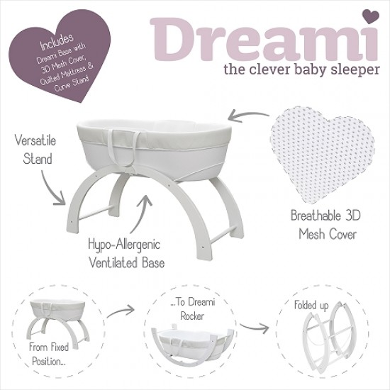 Shnuggle Dreami Baby Sleeper-Grey