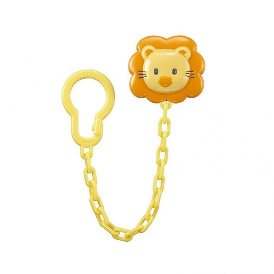 Simba Shaped Pacifier Chain