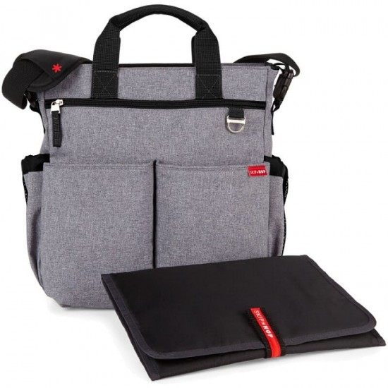 Skip Hop Duo Signature Diaper Bag - Health Grey