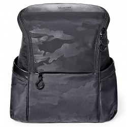Skip Hop Paxwell Easy Access Nappy Backpack - Black Camo
