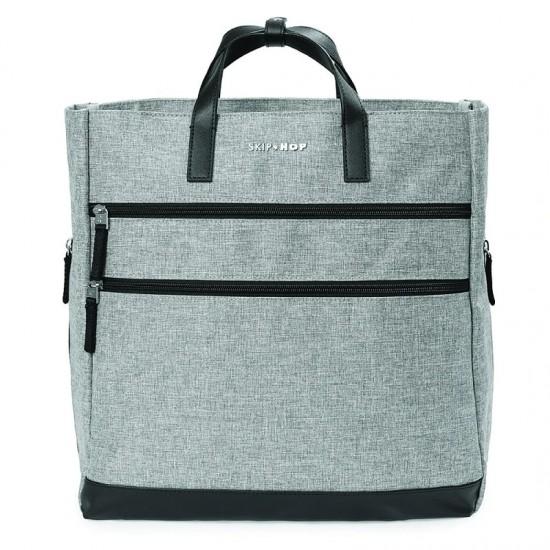 Skip Hop Trio Convertible Nappy Backpack - Grey