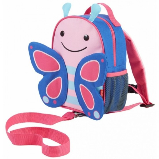 Skip*Hop Zoo-let Mini Backpack With Rein - Butterfly
