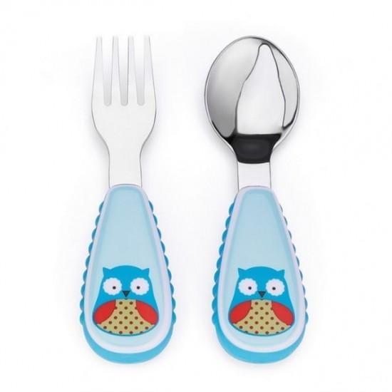 Skip hop Zoo Fork & Spoon Set
