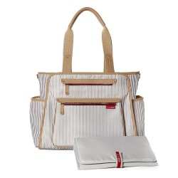 Skip Hop Grand Central Take-it-all Diaper Bag - French Stripe