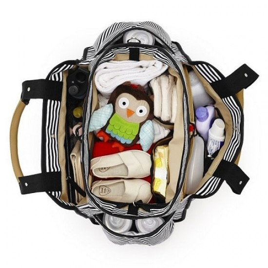 Skip*Hop Grand Central Take-it-all Diaper Bag - Stripe