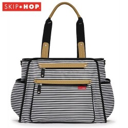 Skip Hop Grand Central Take-it-all Diaper Bag - Stripe