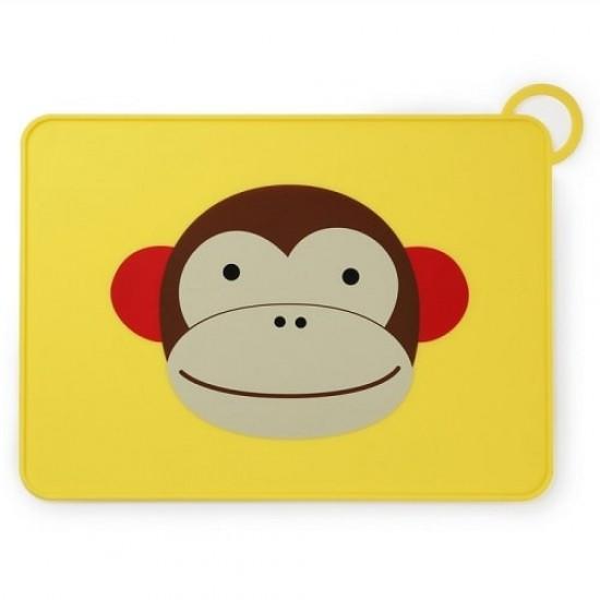 Skip*Hop Zoo Fold & Go Placemat - Monkey