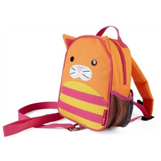 Skip*Hop Zoo-let Mini Backpack With Rein - Cat