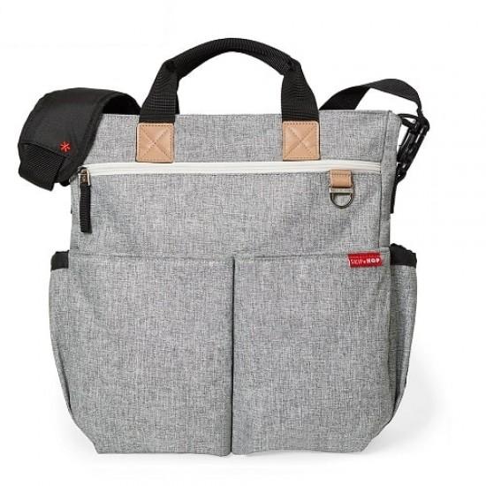Skip Hop Duo Signature Diaper Bag - Grey Melange