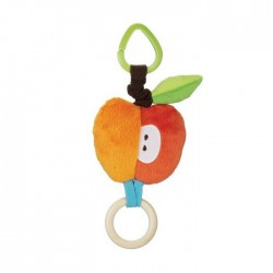 Skip Hop Treetop Friends Stroller Toys - Apple