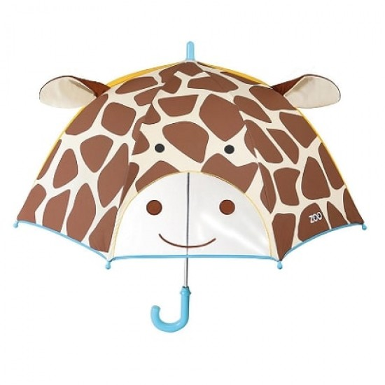 Skip*Hop Little Kid Umbrella - Giraffe