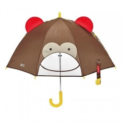 Skip Hop Little Kid Umbrella - Monkey