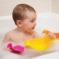 Skip Hop Ducky Stacking Bath Toys - Pink / Orange