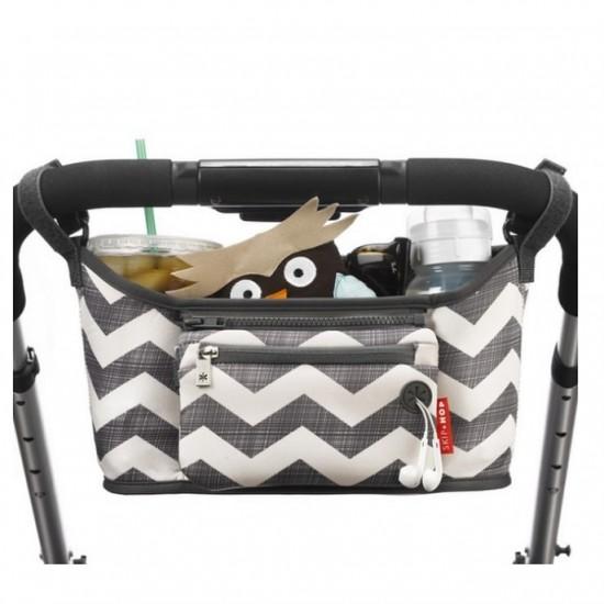 Skip Hop Grab & Go Stroller Organizer - Chevron