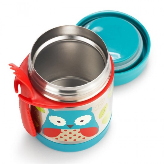 Skip Hop Zoo Insulated Food Jar - Owl