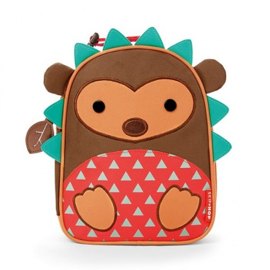 Skip Hop Zoo Lunchies Insulated Lunch Bag - Hedgehog