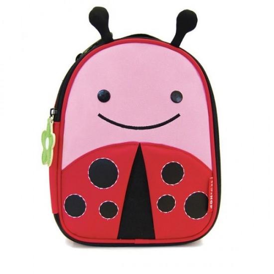 Skip Hop Zoo Lunchies Insulated Lunch Bag - Ladybug