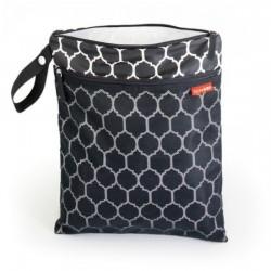Skip Hop Grab and Go Wet / Dry Bag - Onyx Tile
