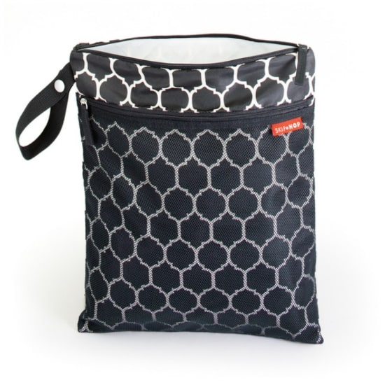 Skip Hop Grab and Go Wet / Dry Bag - Onyx Tile